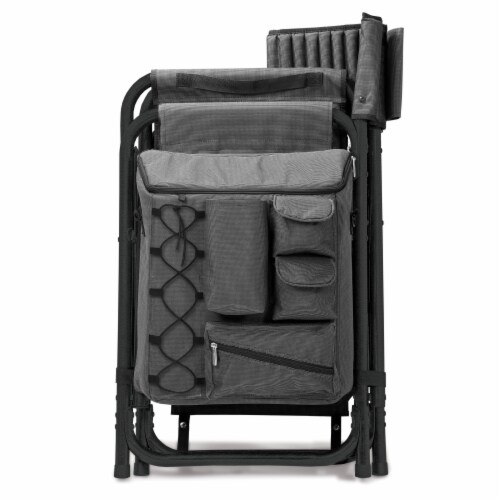 Purdue Boilermakers - Fusion Backpack Chair with Cooler Perspective: bottom