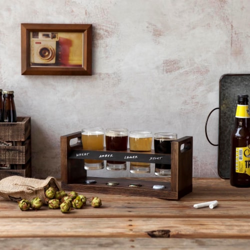Picnic Time Craft Beer Flight - Acacia Perspective: bottom