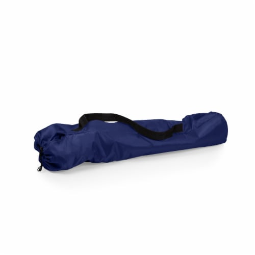 PTZ Camp Chair, Navy Blue Perspective: bottom