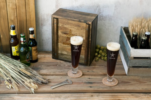 Dallas Cowboys - Pilsner Beer Glass Gift Set Perspective: bottom
