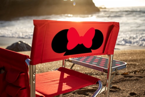 Disney Minnie Mouse - Sports Chair, Red Perspective: bottom