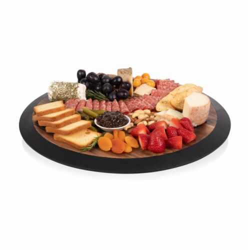 Purdue Boilermakers - Lazy Susan Serving Tray Perspective: bottom