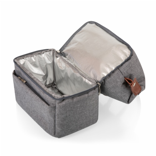 Urban Lunch Bag, Heathered Gray Perspective: bottom