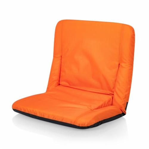 Ventura Portable Reclining Stadium Seat, Orange Perspective: bottom