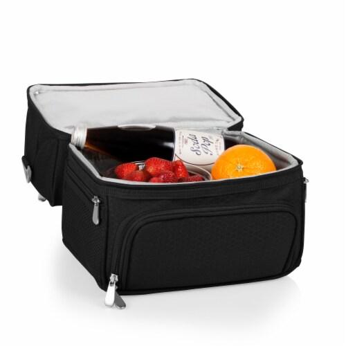 Pranzo Lunch Cooler Bag, Black Perspective: bottom