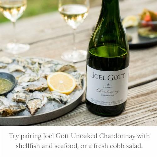 Joel Gott California Unoaked Chardonnay White Wine Perspective: bottom