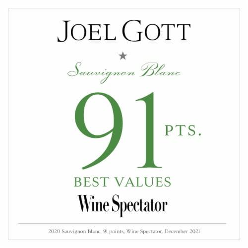 Joel Gott Sauvignon Blanc White Wine Perspective: bottom