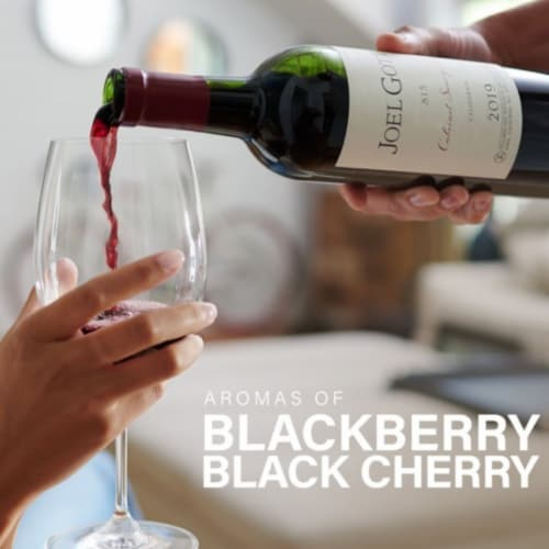 Joel Gott Cabernet Sauvignon Red Wine Perspective: bottom