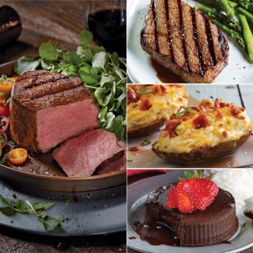 Kansas City Steak Steak Lover's Meal (Approximate Delivery 3 – 8 Days) Perspective: bottom