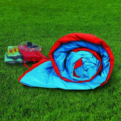 Banzai Slide N Soak Splash Park Inflatable Outdoor Kids Water Park Play Center Perspective: bottom