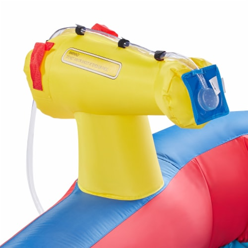 Banzai Hydro Blast Inflatable Play Water Park with Slides and Water Cannons Perspective: bottom