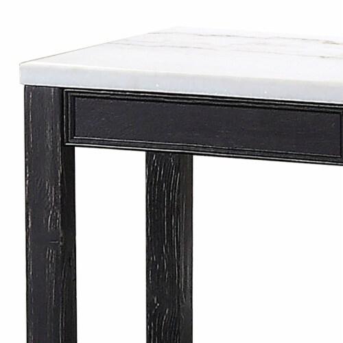 Saltoro Sherpi Polyresin Wall Decor with Sea Shell Design, Set of 2, White Perspective: bottom