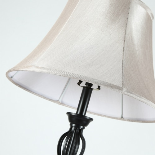 Cedar Hill 59-in Dark Bronze Floor lamp Perspective: bottom