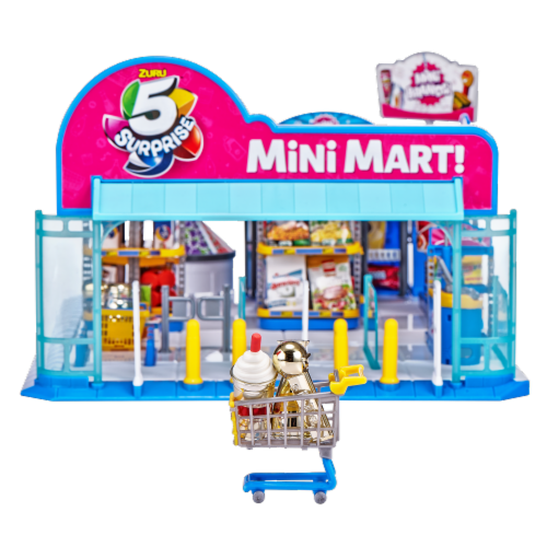 Zuru 5 Surprise Mini Brands Mini Mart Perspective: bottom
