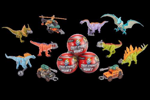 Zuru 5 Surprise Dino Strike Hunt Series Mystery Collectible Capsule Perspective: bottom