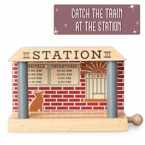 Wooden Train Mechanic and Station Perspective: bottom