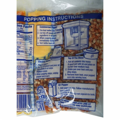 Great Northern Popcorn 1 Case (24) of 6 Ounce Popcorn Portion Packs Kit Cinema Perspective: bottom