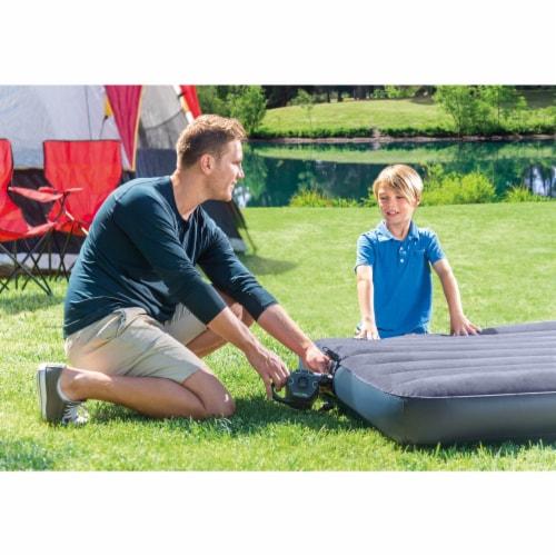 Intex 120V Cordless Electric Air Pump Intex Kidz Inflatable Air Mattress w/ Bag Perspective: bottom