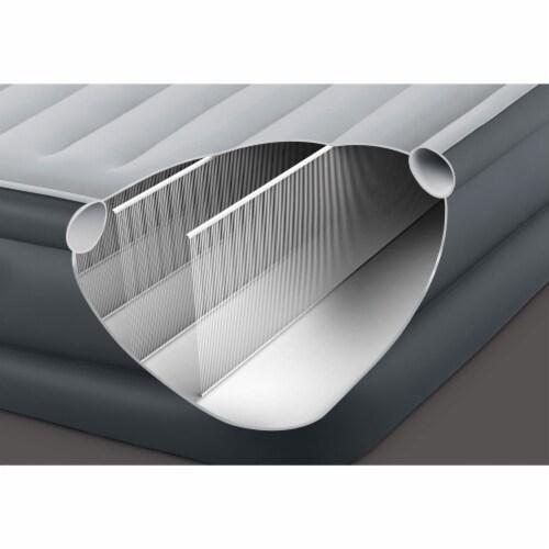 Intex QueenDura Beam Essential Air Mattress w/ Built-in Electric Pump (5 Pack) Perspective: bottom