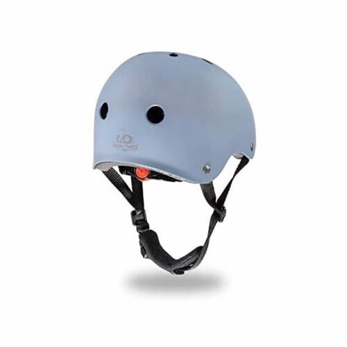 Kinderfeets Slate Blue Toddler Kids Helmet Bundle with Balance Bike Tricycle Perspective: bottom