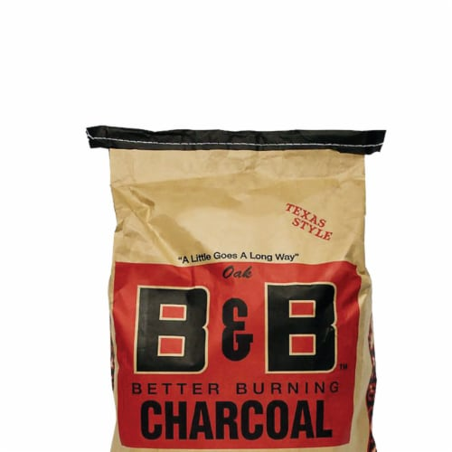 B&B Charcoal Signature Low Smoke Oak Lump Grilling Charcoal, 20 Pounds (2 Pack) Perspective: bottom