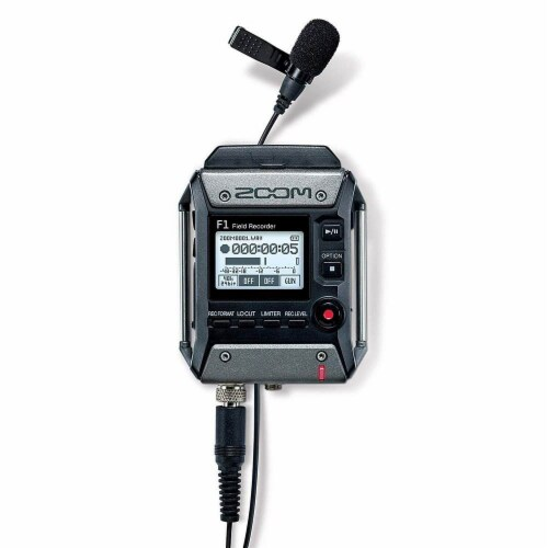 Zoom H5 Digital Audio Recorder Set with F1 Microphone and EXH6 Input Capsule Perspective: bottom