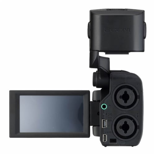 Zoom Q8 Video Professional Camera & H2N Portable 4 Track Digital Audio Recorder Perspective: bottom