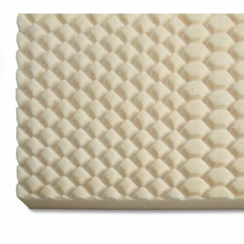 I Love Pillow 2.50 In Copper Gel Memory Foam Mattress Topper Pad, Twin (2 Pack) Perspective: bottom