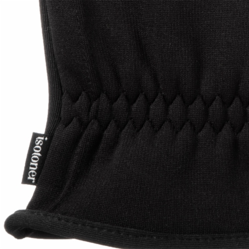 Isotoner­® Men's Large Active Stretch Gloves - Black Perspective: bottom