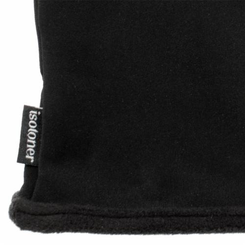 Isotoner® Women's Small-Medium Spandex Gloves - Black Perspective: bottom