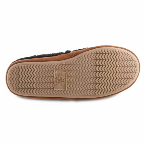 Isotoner® Happy Sheep Berber A-line Slippers Perspective: bottom