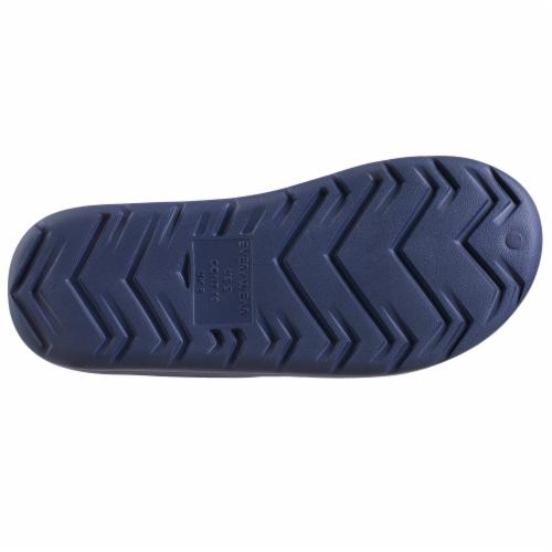 Totes Men's Ara Sport Slide - Navy Blue Perspective: bottom