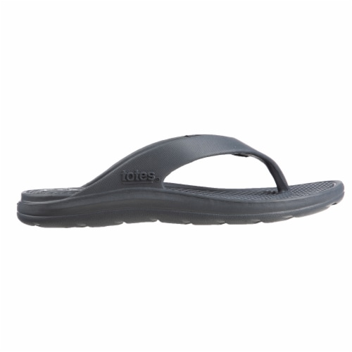 Totes Mens Sol Bounce Ara Thong Sandals - Mineral Perspective: bottom