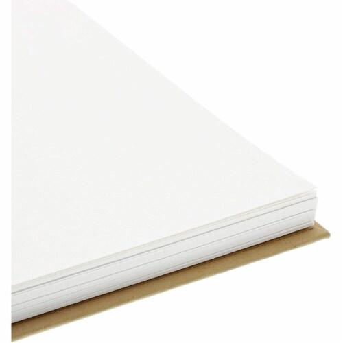 Kraft Cover Notebook, Spiral Hardcover Sketchbook (7.75 x 5.75 In, 3-Pack) Perspective: bottom