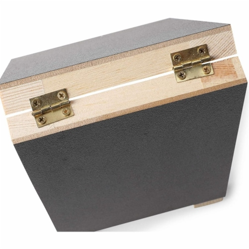Chalkboard Easel Stand with Liquid Chalk Marker and White Chalk (2 Sets) Perspective: bottom