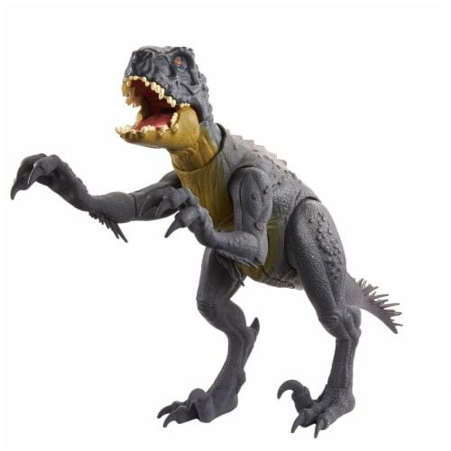 Mattel Jurassic World Slash N Bash Scorpius Rex Action Figure Perspective: bottom