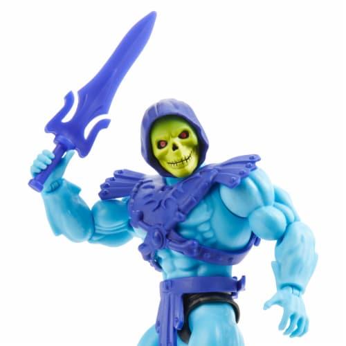 Mattel Masters of the Universe Origins Skeletor Action Figure Perspective: bottom