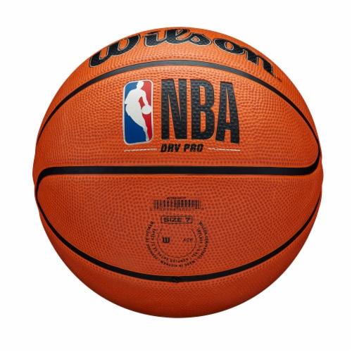 Wilson Sporting Goods NBA DRV PRO Basketball - Orange/Black Perspective: bottom