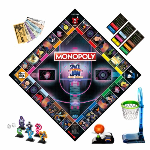 Hasbro Gaming Monopoly: Space Jam: A New Legacy Edition Perspective: bottom