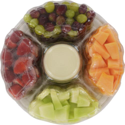 In-Store Cut Fruit Tray Perspective: bottom