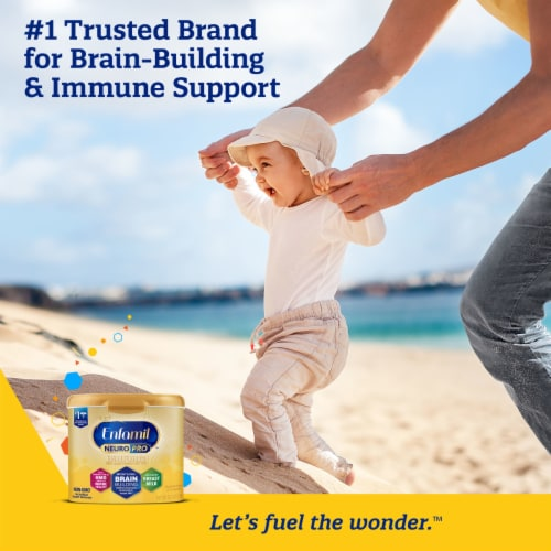 Enfamil NeuroPro Non-GMO Ready to Feed Infant Formula Bottles Perspective: bottom