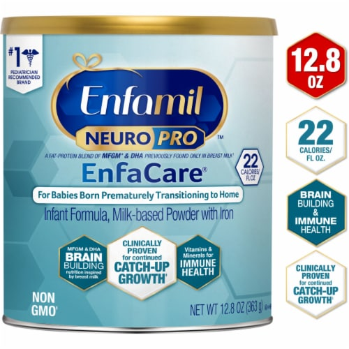 Enfamil NeuroPro EnfaCare Infant Formula Milk-based Powder with Iron Perspective: bottom