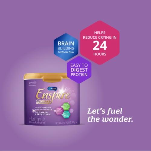 Enfamil Enspire Gentlease Powdered Infant Formula Pouches Perspective: bottom