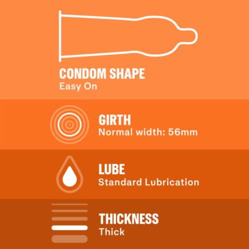 Durex Avanti Bare Real Feel Non-Latex Condoms Perspective: bottom
