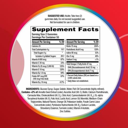 Centrum Health & Omega Multigummies Perspective: bottom