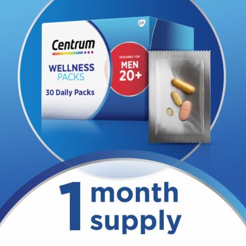 Centrum Mens 20+ Daily Wellness Packs Perspective: bottom