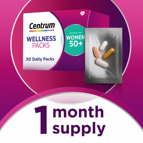 Centrum Womens 50+ Daily Wellness Packs Perspective: bottom