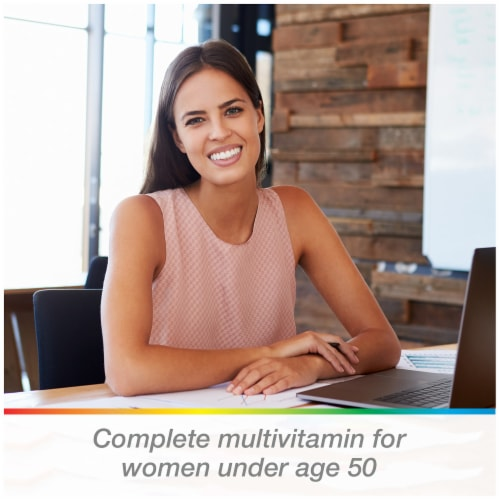 Centrum Women Multivitamin Tablets Perspective: bottom