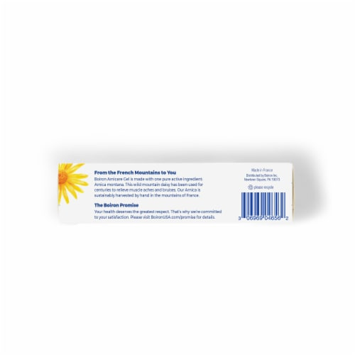 Boiron Arnicare Pain Relief Cream Perspective: bottom