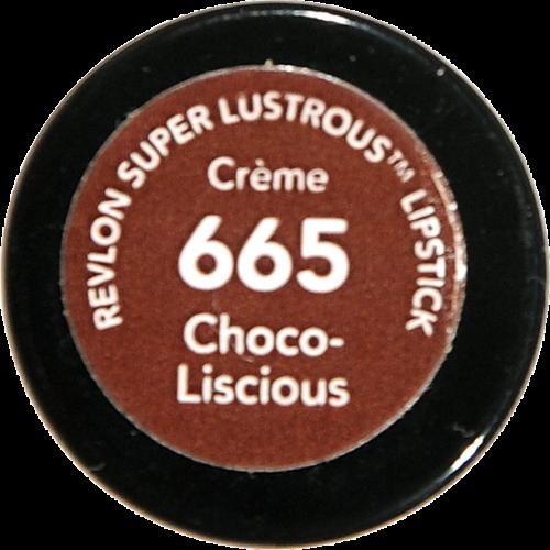 Revlon Super Lustrous Choco-Liscious Creme Lipstick Perspective: bottom